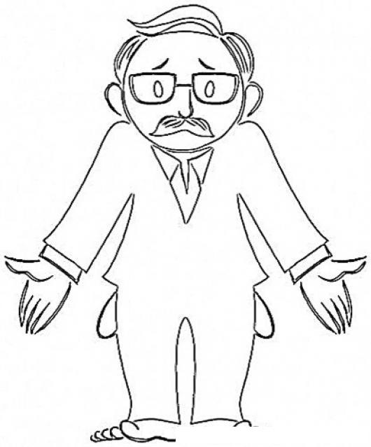Hombresindinero Dibujo De Un Papa Sin Dinero Y Sin Zapatos Para
