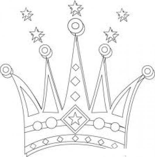 Coronadeprincesa Dibujo De La Corono De Una Princesa Para Pintar Y