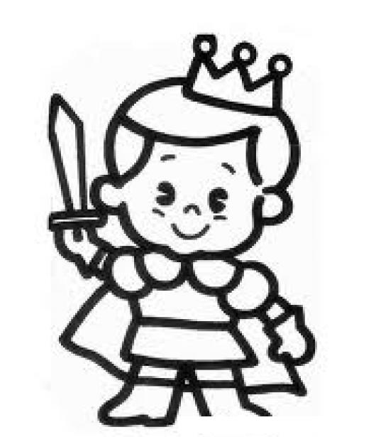 Elprincipito Dibujo De Principe Chiquitito Para Pintar Colorear