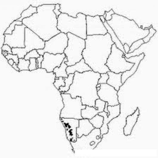 Mapadeafrica Dibujo Del Mapa De Africa Para Colorear | COLOREAR ...