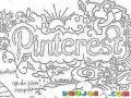 Pinterest Dibujo De Pinterest Para Colorear