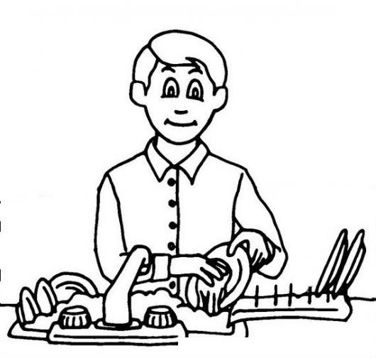 Dibujos De Personas Lavando Platos Imagui
