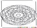Mandala De Navidad Para Pintar Y Colorear Mandala De Renos