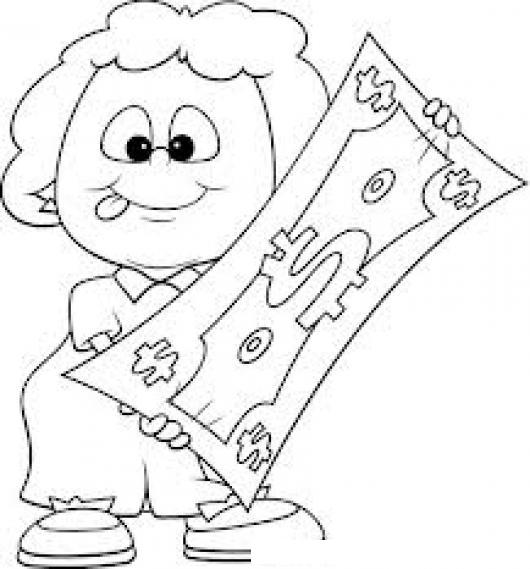 altagando el presupuesto dibujo de una mujer estirando el