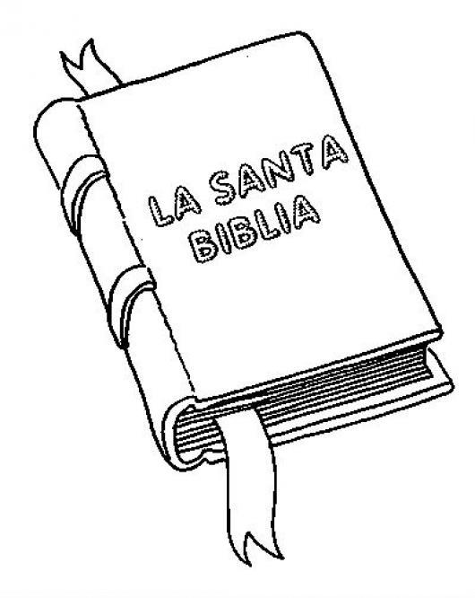 La Santa Biblia Para Colorear | COLOREAR DIBUJOS VARIOS | La Santa ...