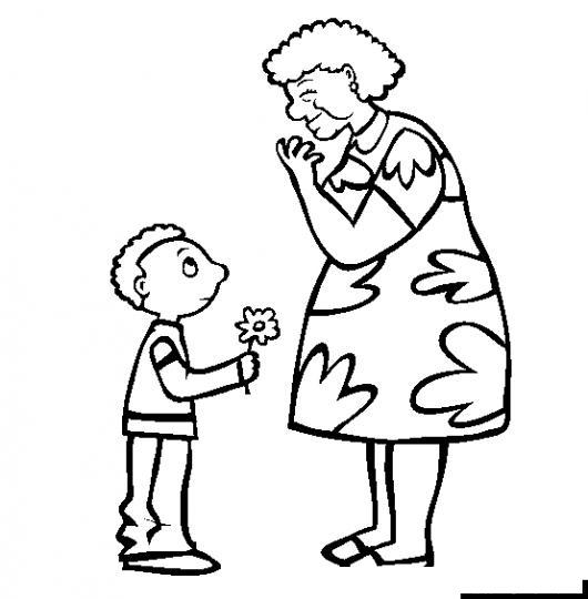 dando abuelita