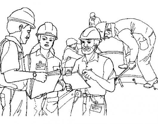 Ingenieros Civiles Dibujo De Arquitectos E Ingenieros Para Pintar