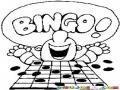 Ganador De Bingo Para Pintar Y Colorear