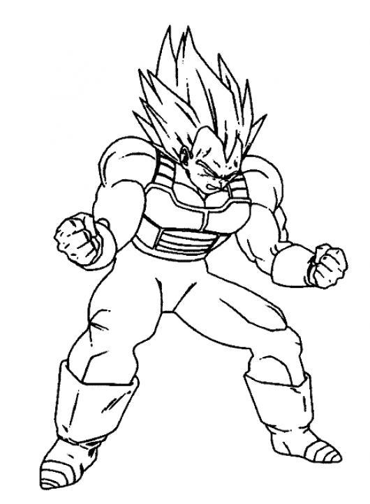 Dibujo De Dragon Ball Para Pintar Y Colorear | COLOREAR DIBUJOS ...