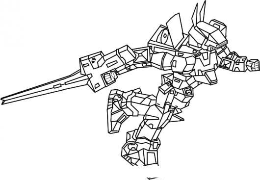 Dibujo De Transformer Con Espada Para Colorear Colorear Dibujos