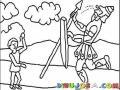 Colorear A David Y Goliat