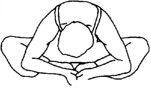 Estiramiento De Yoga Para Pintar Y Colorear | COLOREAR DIBUJOS