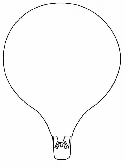 Worksheet. Dibujo De Un Globo Aerostatico Para Pintar Y Colorear  COLOREAR