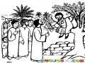 Dibujo De Jesus Y Saqueo Para Pintar Y Colorear
