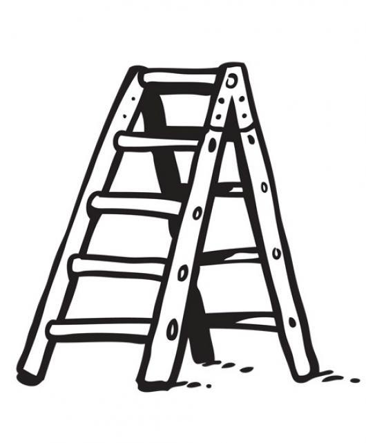 Dibujo de escalera para colorear imagui - Escaleras para pintar ...