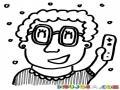 Dibujo De Abuelita Jugando Wii