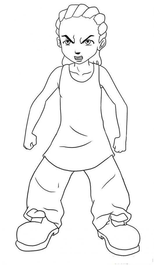 Colorear Karate Kid Hijo De Will Smith Colorear Dibujos De Cholo