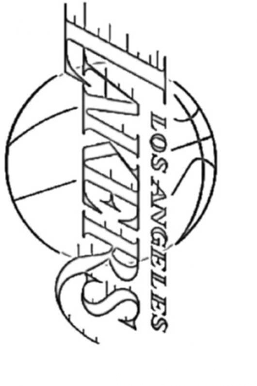 lakers logo coloring pages - photo#9