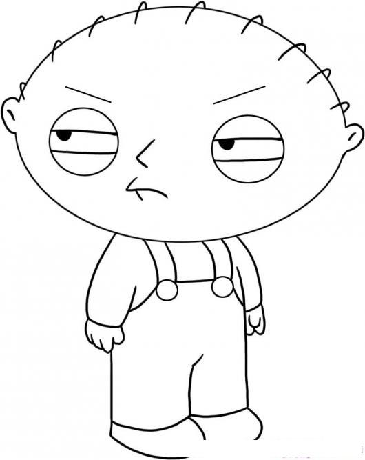 Stewie Griffin Para Colorear   COLOREAR DIBUJOS DE CHOLO   Stewie ...