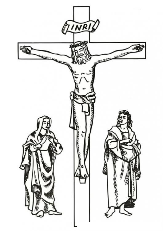 Crucifixion De Jesus Para Colorear | COLOREAR DIBUJOS DE CHOLO ...