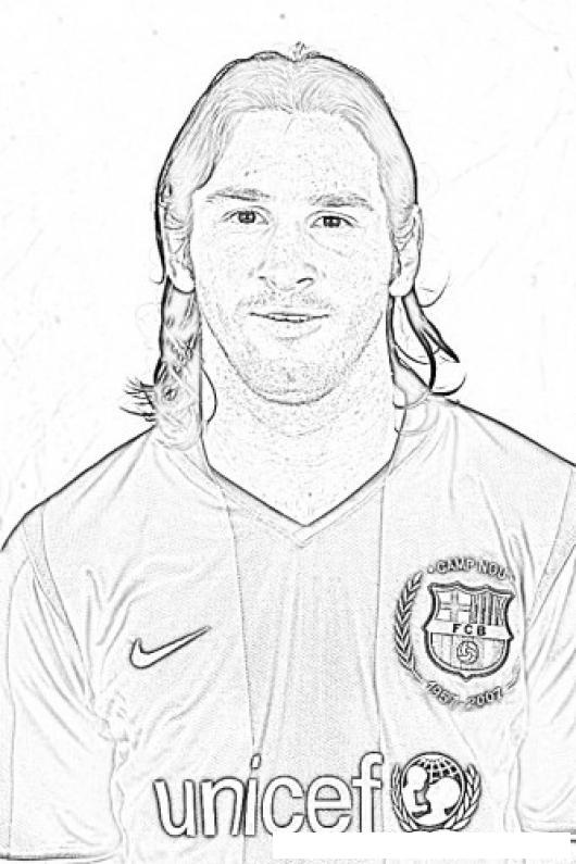 Messi Para Colorear Y Pintar Colorear Dibujos De Cholo Messi Para Colorear Y Pintar Dibujosa Com