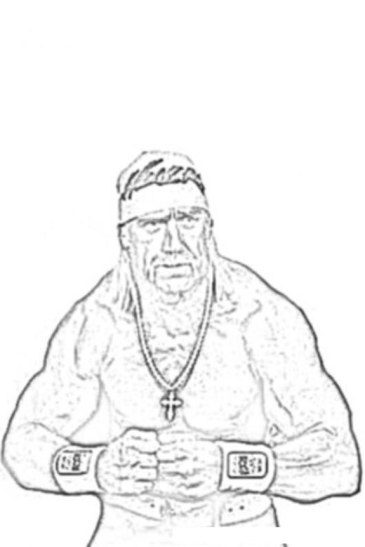 Hulk Hogan Coloring Page  COLOREAR DIBUJOS DE CHOLO ...