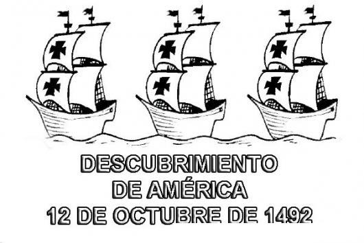 Des Cubirimiento De America 12 De Octubre De 1942 Para Colorear ...