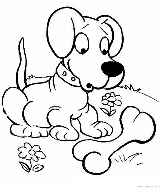 Colorear Cachorro Con Hueso | COLOREAR DIBUJOS DE CHOLO | Colorear ...