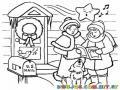 Colorear Canticos De Navidad