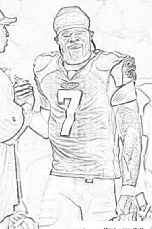 michael vick coloring pages - photo#6