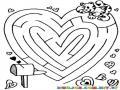 Laberinto Del Amor Para Imprimir