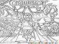 Camelot Coloring Page