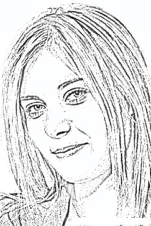 maria sharapova coloring page jugadora de tennis para pintar y colorear