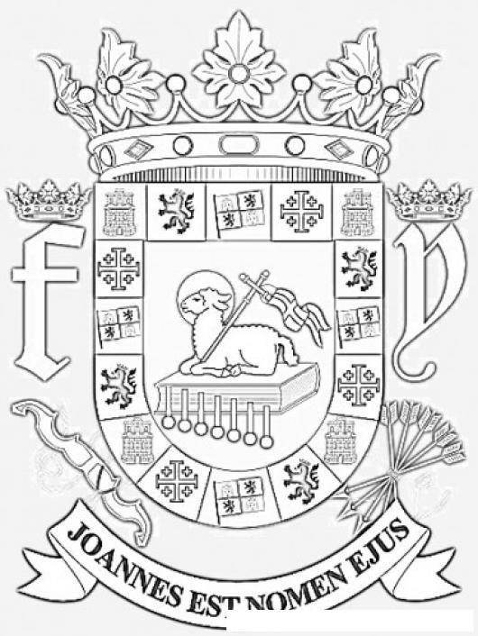 Escudo De Puerto Rico Para Colorear Pintar E Imprimir escudo de pr ...
