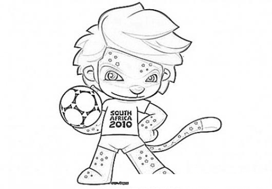 zakumi coloring pages - photo #31