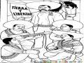 Dibujo De Zapata Tierra Y Libertad Mexicana Para Colorear Y Pintar