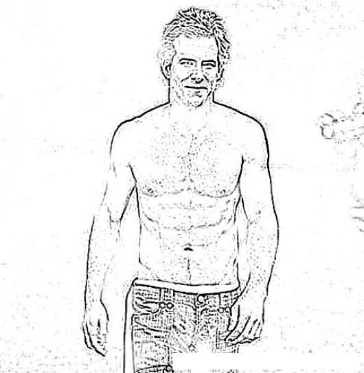 Ryan Reynolds En Dibujo Para Pintar Y Colorear Online Colorear
