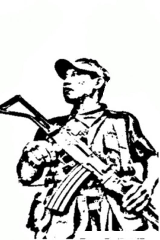 Soldado Del Ejercito De Guatemala Para Pintar Y Colorear | COLOREAR ...