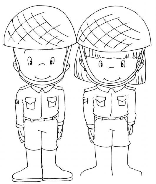 Dibujo De Soldados Del Ejercito De Precious Moments Soldadito Y