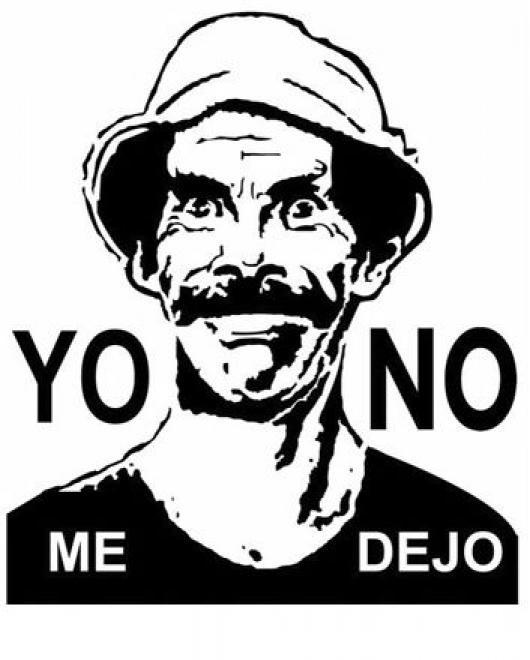 Yo No Me Dejo Dibujo De Don Ramon Para Colorear Colorear