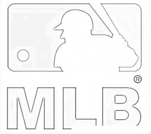 Dodgers Baseball Logo Coloring Page Coloring Pages Mlb Logo Coloring Pages