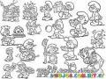 Personajes De Los Pitufos Para Colorear Figuritas De Pitufos