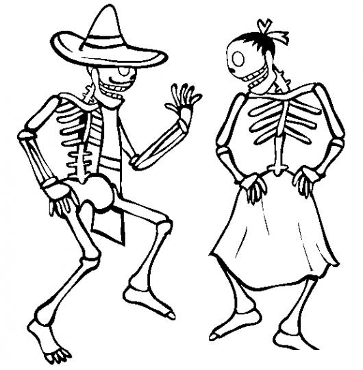 robot skeleton coloring pages - photo#7
