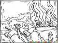 Colorear a Lot escapando de Sodoma