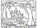 Castillo en el bosque