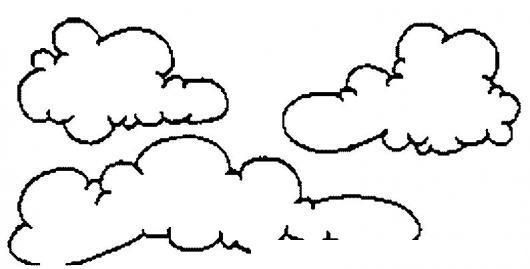 nubes para colorear - Yelom.agdiffusion.com