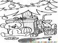 Dibujo De Regalos Y Juguetes Al Pie Del Arbol De Navidad Para Colorear Y Pintar Gratis