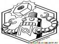 Colorear La Idea De Un Roboto Para Pintar Y Colorear