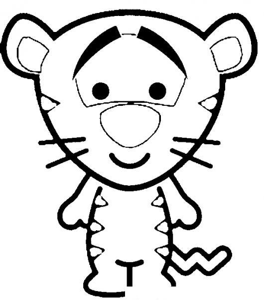 Dibujos Para Colorear De Tigger Bebe ~ Ideas Creativas Sobre Colorear