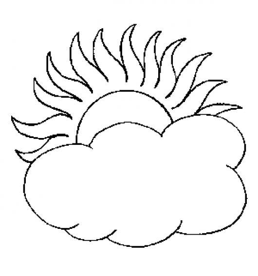 nubes para colorear - Sasolo.annafora.co